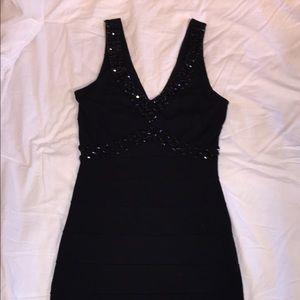 BodyCentral Black Dress